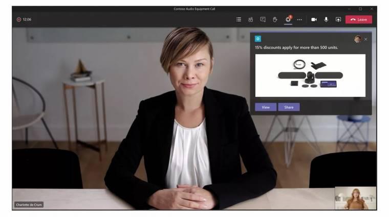 Külsős appokat is bevon a meetingekbe a Microsoft Teams kép