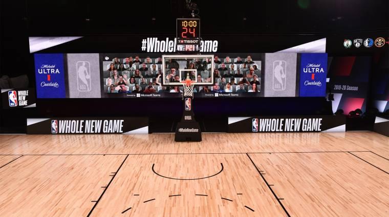 Microsoft Teamsben vehetnek részt a rajongók az NBA meccsein kép