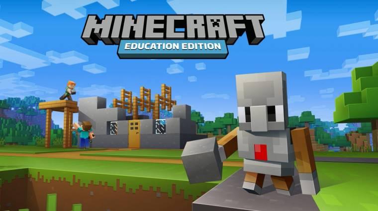 Ingyenes, oktatási célú világokkal teszi könnyebbé a Minecraft az otthoni tanulást bevezetőkép