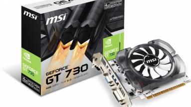 Annyira nincs videokártya, hogy az MSI visszahozta a GT 730-at kép