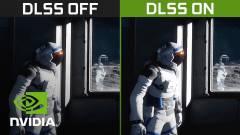 A fejlesztők is hozzáférhetnek az Nvidia szuperszámítógépének kísérleti DLSS-modelljeihez kép