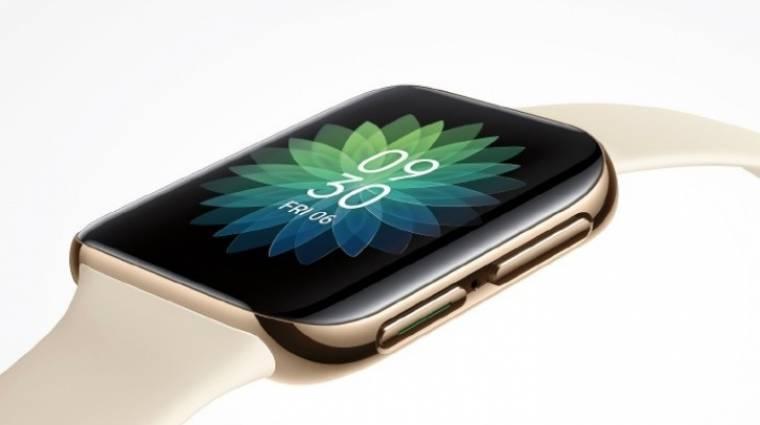 Az Oppo új okosórája majdnem egy Apple Watch kép