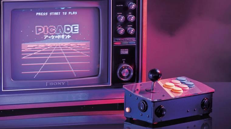 Itt a Raspberry Pi alapú retró játékkonzol kép