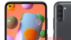 A Samsung mobilok dobozából is kikerülhet a töltő kép