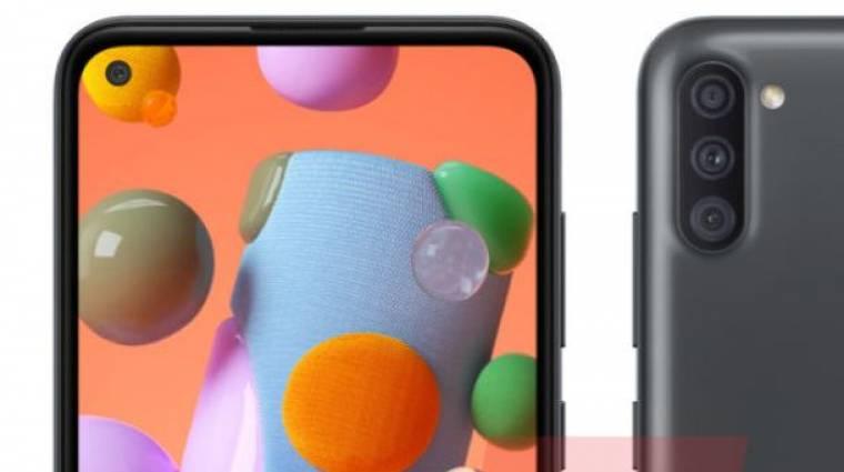Fúrt szelfikamerával jöhet a belépőszintű Samsung Galaxy A11 kép