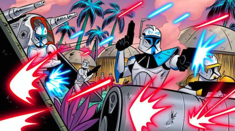 Határozatlan ideig csúszik a Star Wars: The Clone Wars képregénysorozat bevezetőkép