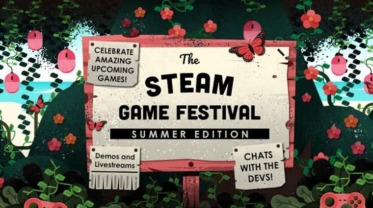 Ősszel újra lesz Steam Game Festival bevezetőkép