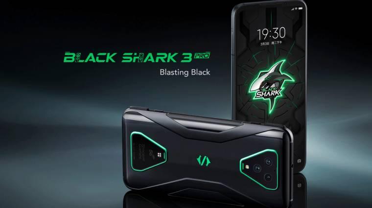 Kettő is érkezett a Black Shark 3 gamer-mobilból kép