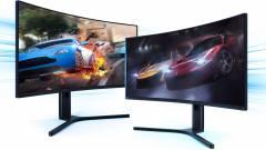 Ívelt Xiaomi monitor érkezik játékosoknak kép