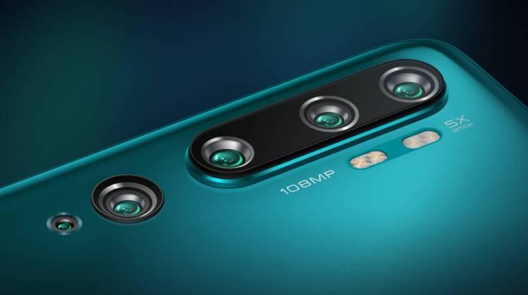 Olcsó lesz a Xiaomi legújabb 108 megapixeles kamerás mobilja kép