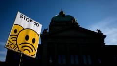 Félnek az emberek, újabb országban rongálják az 5G-tornyokat kép