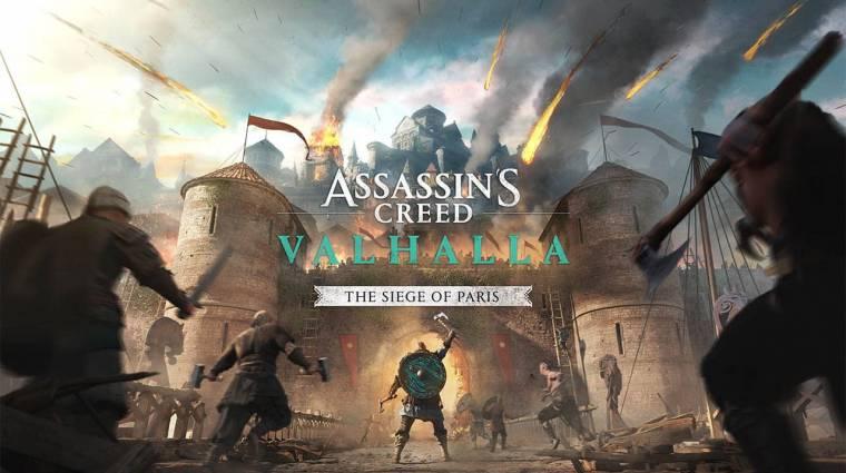 Furcsa módon derült fény az Assassin's Creed Valhalla: The Siege of Paris DLC megjelenési dátumára bevezetőkép