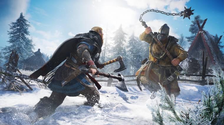 Hosszú előzetesben mutatkozik be az Assassin's Creed Valhalla játékmenet bevezetőkép