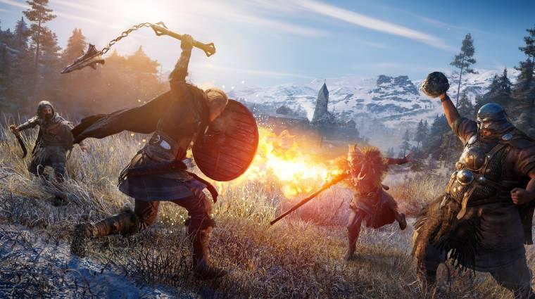 Az Assassin's Creed Valhallában 25-féle ellenféltípus tör az életünkre bevezetőkép