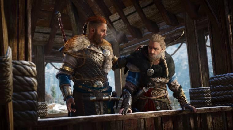 Norvégiában egy nagyobb pizza áráért szórták az Assassin's Creed Valhallát bevezetőkép