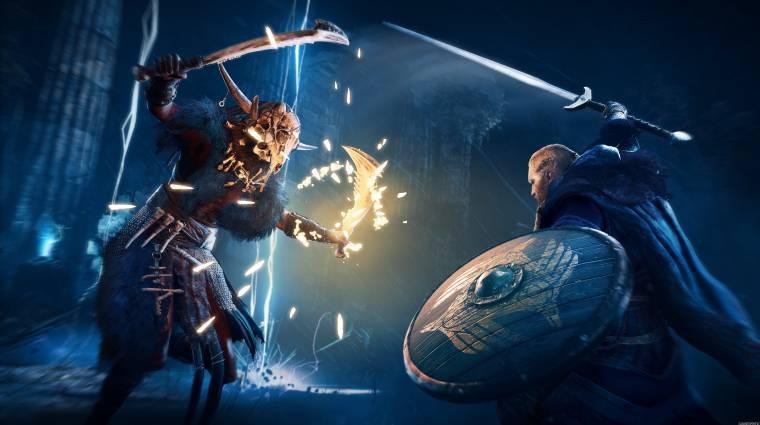 Aranylemezen az Assassin's Creed Valhalla bevezetőkép