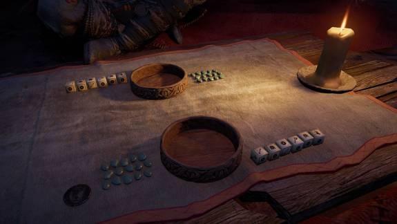 Hamarosan tényleg dobálhatjuk az Assassin's Creed Valhalla kockáit, jön az igazi Orlog kép