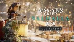 Az Assassin's Creed Valhallában most indult a Yule fesztivál, különleges lootokat húzhattok be kép