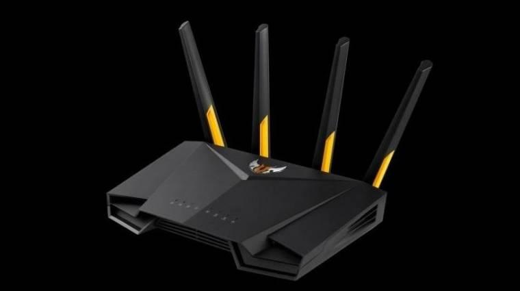 TUF Gaming szériás routert hozott a játékosoknak az ASUS kép