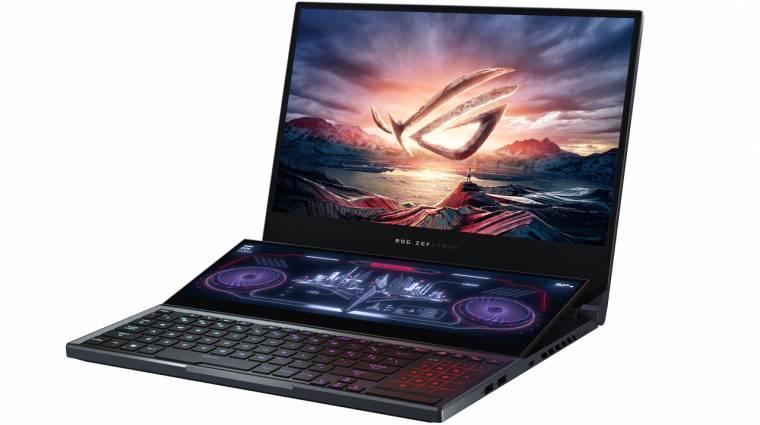 Minden negyedik eladott gamer laptop ASUS gyártmány kép