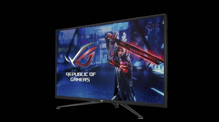 Villámgyors és HDMI 2.1-es gamermonitorokkal újított az ASUS kép