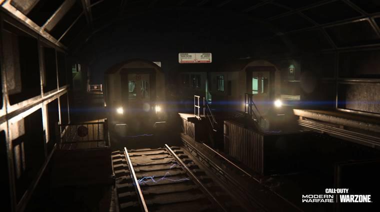 A Call of Duty: Warzone meccseit rendesen megbolondítják majd a metrószerelvények bevezetőkép