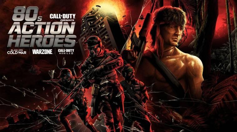 Már traileren is láthatjuk, ahogy Rambo zúz a Call of Duty: Warzone-ban bevezetőkép