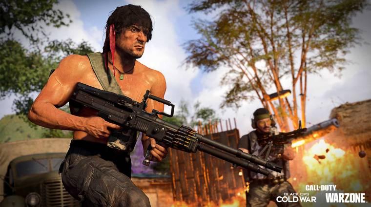 Rambo játékmóddal bővült a Call of Duty: Black Ops Cold War bevezetőkép