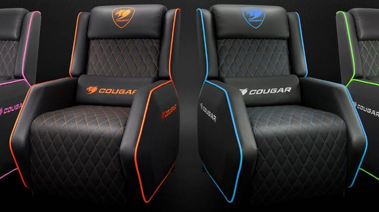Ettől a hírtől leülsz: gamer szék után már van gamer fotel is kép