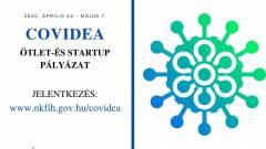 COVIDEA online startup pályázat a koronavírus okozta társadalmi, gazdasági kihívások enyhítésére kép