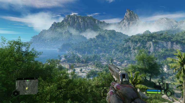 A Crytek szerint nincs olyan kártya, amivel 4K-ban, 30 fps-sel fut maxon a Crysis Remastered bevezetőkép