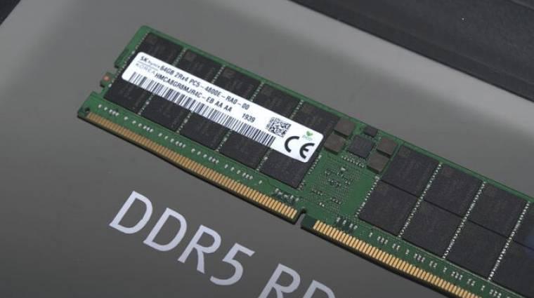 Az Amazonon már felbukkant az első DDR5-ös memória kép