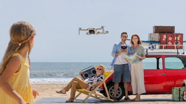 Apró, de sokoldalú drón lett az új DJI Mavic Mini 2 kép