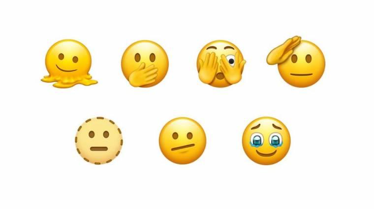 Leolvadó arc, troll, terhes férfi - ezek az emojik érkezhetnek hamarosan kép