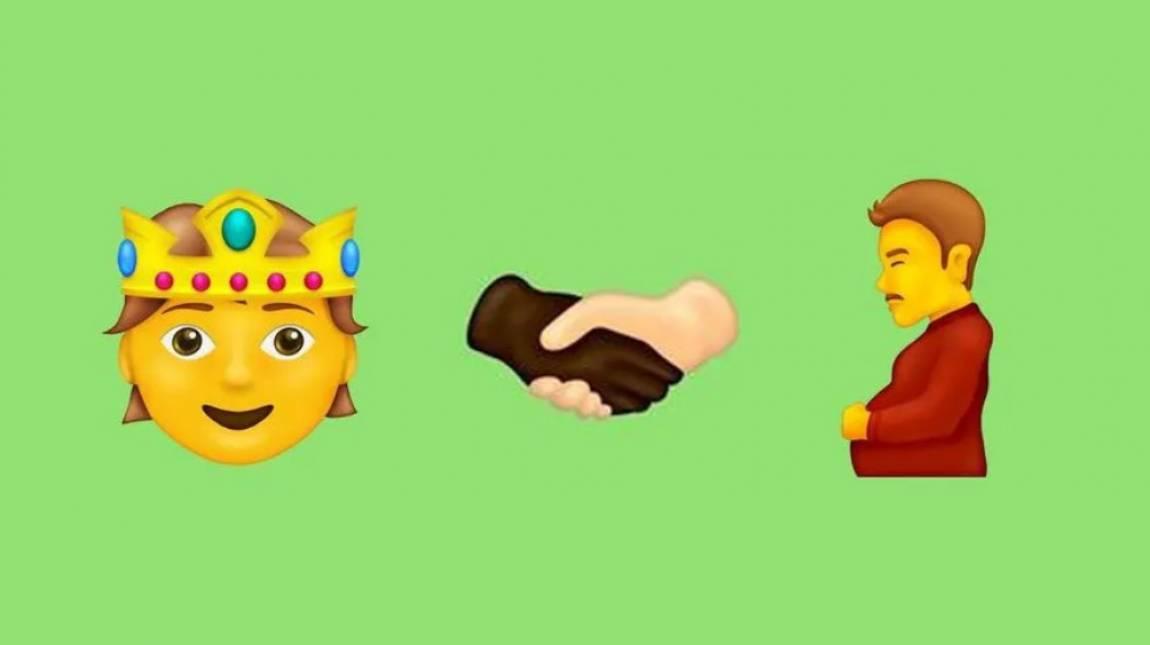 Buborék, beharapott száj, terhes férfi - megjelenésre készek az új emojik kép