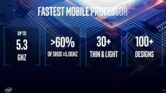 Kegyetlenül felpörgeti az Intel a játékos laptopokat kép