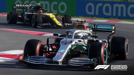 F1 2020 infódoboz