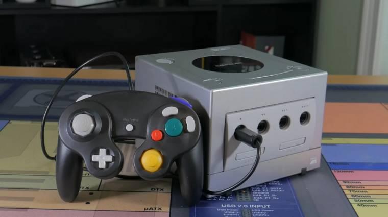 Klasszikus Nintendo GameCube házba préseltek egy modern PC-t kép
