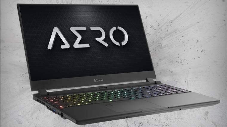 Ütős laptop lesz a Gigabyte Aero 15 XB kép