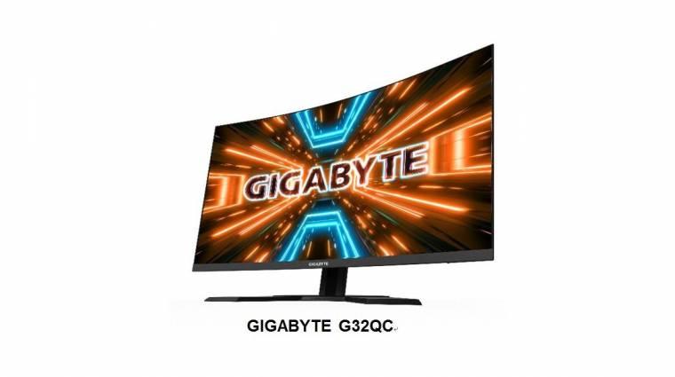 Gamereknek szánt monitorokkal újított a Gigabyte kép