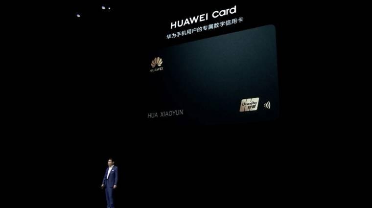 Te használnál Huawei hitelkártyát? kép