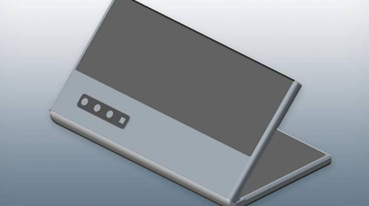 A Galaxy Foldra hasonlíthat a következő összehajtható Huawei okostelefon kép