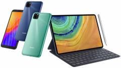 Új, Huawei mobilok, tabletek és laptopok érkeztek Magyarországra kép