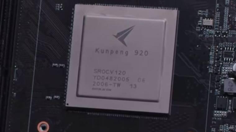 Legyőzte a Core i9-9900K-t a Huawei 24-magos processzora kép