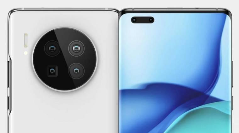 Kiszivárgott, hogy mit tud majd a Huawei Mate 40 Pro kép