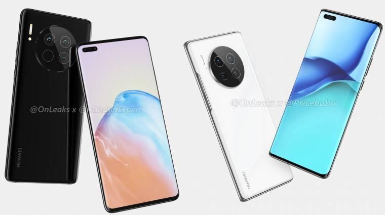 Tovább szivárog a Huawei Mate 40 Pro kép