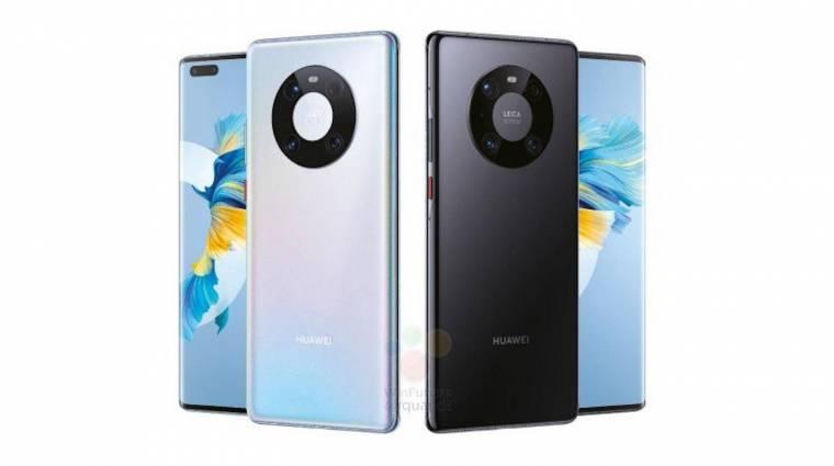 Képeken a Mate 40 széria - az utolsó androidos Huawei sorozat lehet kép