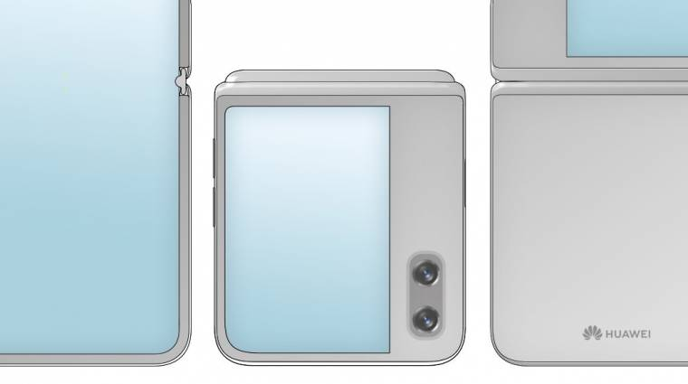 Újabb összehajtható mobilon dolgozhat a Huawei kép