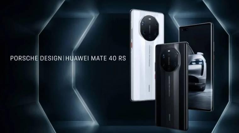 Kapkodnak a 800 000 forintnál is drágább Porsche Design Huawei Mate 40 RS mobilok után kép