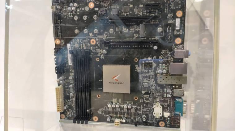 A Huaweinek is van már saját processzoros PC-je kép